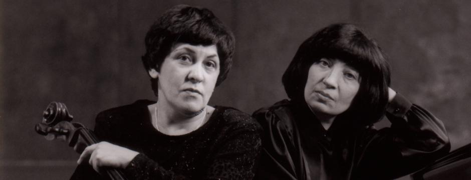 Natalia Gutman & Elisso Virsaladze - Photo:Werner Neumeister