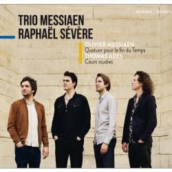 Cover CD Messiaen
